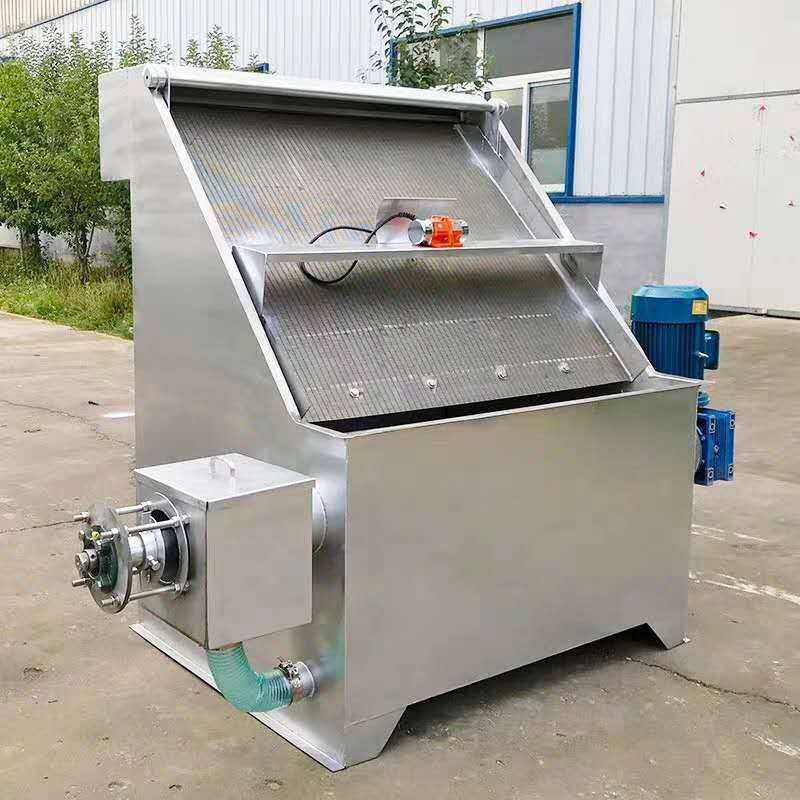 河北省斜筛式干湿/固液分离器工作原理