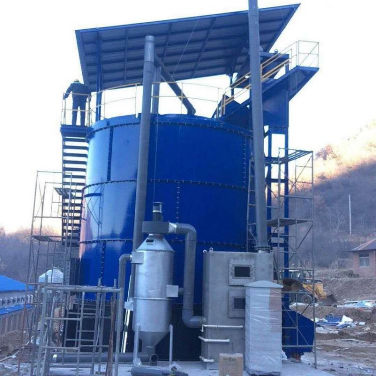 广东省餐厨垃圾发酵罐生产厂家工作原理