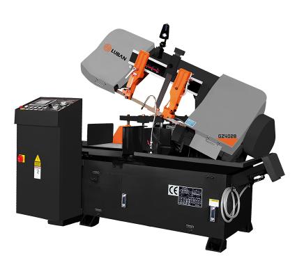 GZ4028剪刀式数控带锯床 运行稳定 公差小